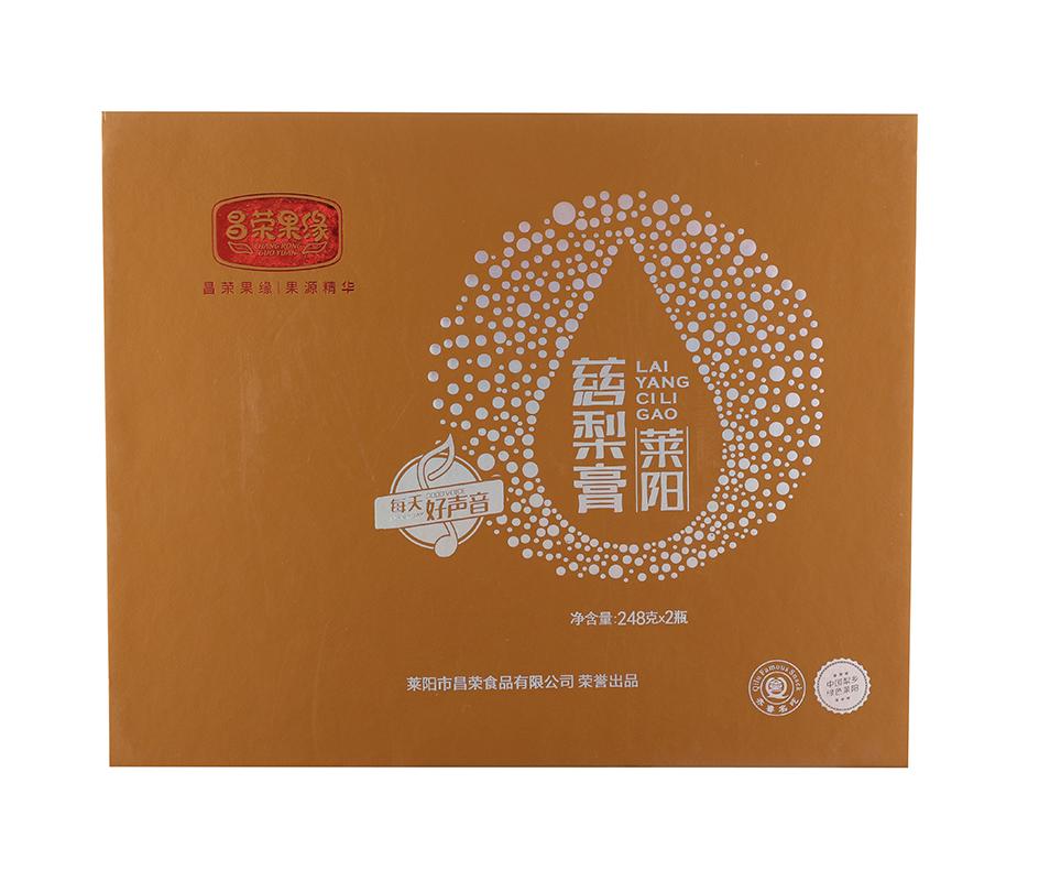 莱阳慈梨膏礼盒248g×2瓶