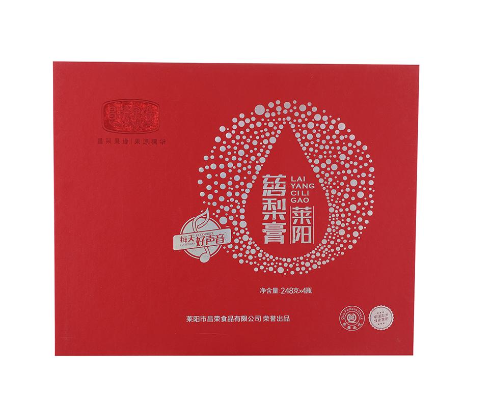 莱阳慈梨膏礼盒248g×4瓶